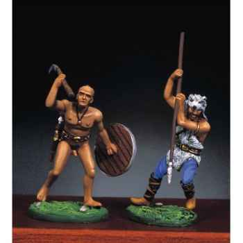 Figurine - Kit à peindre Guerriers barbares II - RA-021