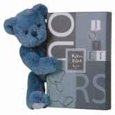 ours noeud 28 cm vieux bleu histoire d ours 2171