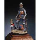 figurine kit a peindre edward le prince noir en 1330 1376 sm f01