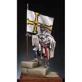 figurine kit a peindre chevalier teutonique en 1360 sm f03