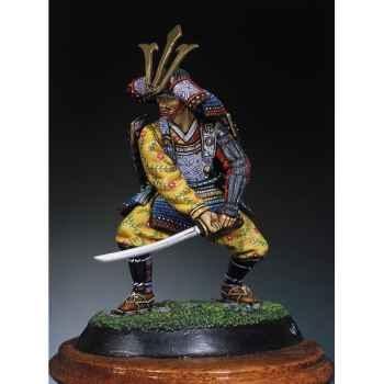 Figurine - Kit à peindre Samouraï en 1300 - SM-F05