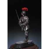 figurine kit a peindre chevalier italien en 1450 sm f08