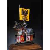 figurine kit a peindre chevalier en armure en 1520 sm f09