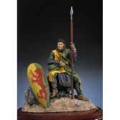 figurine kit a peindre chevalier normand en 1180 sm f12