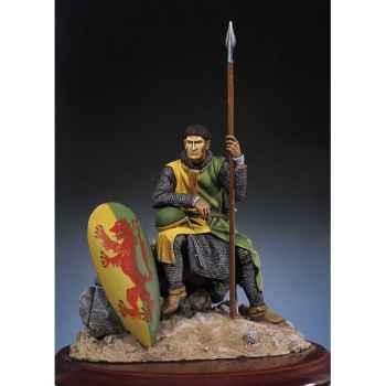 Figurine - Kit à peindre Chevalier normand en 1180 - SM-F12