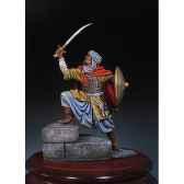 figurine kit a peindre guerrier arabe en 1250 sm f13