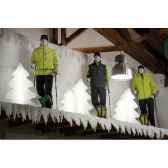 sapin lumineux maxi blanc glace lumenio 16834