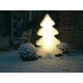 sapin lumineux maxi blanc chaleureux lumenio 16835