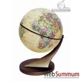 mini globe 11 cm antique axe incline cartotheque egg slcl11anti