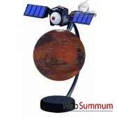globe 15 cm magnetique flottant mars cartotheque egg slmf15mars