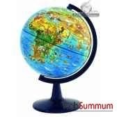 globe dinoz 15 cm monde animalivret cartotheque egg slje15anim