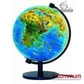 globe dinoz 28 cm monde animalivret cartotheque egg slje28anim