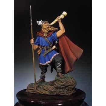 Figurine - Kit à peindre Guerrier viking en 900 - SM-F21