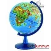 globe dinoz 15 cm monde enfant livret cartotheque egg slje15chil