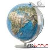 mini globe colombus classic 12cm duorama pied et meridien acier brosse cartotheque egg co211281
