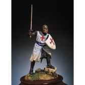 figurine kit a peindre chevalier de lordre des templiers en 1200 sm f22