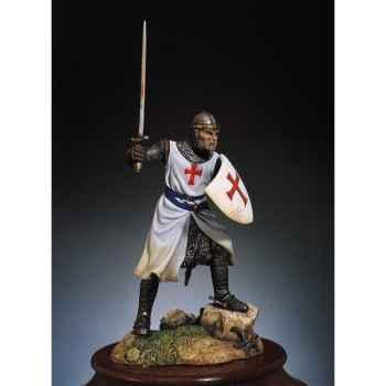 Figurine - Kit à peindre Chevalier de l'ordre des Templiers en 1200 - SM-F22