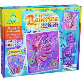 Coffret mosaïques autocollantes - ballerine the orb factory-ORB62262