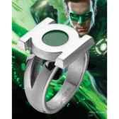 anneau embleme green lantern acier noble collection nnxt8310