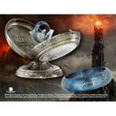 anneau unique acier bleu noble collection nn1297