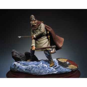 Figurine - Kit à peindre Guerrier viking blessé  - SM-F26