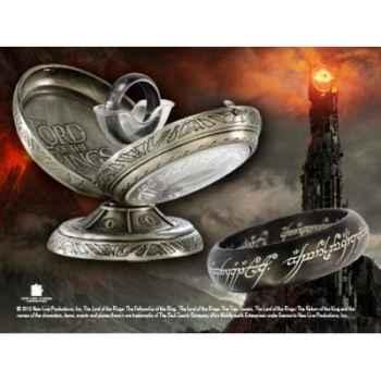 Anneau unique - acier noir Noble Collection -NN1319