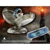 anneau unique rotatif acier bleu noble collection nn1342