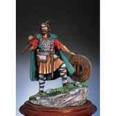 figurine kit a peindre chef de clan gallois en 1270 sm f27
