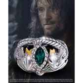 aragorn anneau barahir argent massif noble collection nn9687