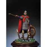 figurine kit a peindre guerrier franc en 850 sm f28