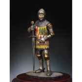 figurine kit a peindre chevalier anglais en 1400 sm f31