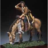 figurine kit a peindre archer hun a chevaen 450 sm f34