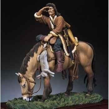 Figurine - Kit à peindre Archer hun à cheval en 450 - SM-F34