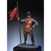 figurine kit a peindre chevalier francais en 1350 sm f36