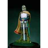 figurine kit a peindre guerrier saxon au vie siecle sm f38