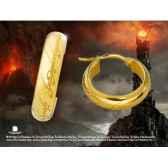 boucles d oreilles anneau unique dore noble collection nn1347