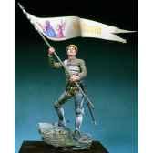 figurine kit a peindre jeanne d arc orleans en 1429 sm f41