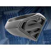 chevaliere embleme superman noir noble collection nnxt8307
