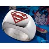 chevaliere embleme superman rouge noble collection nnxt8313