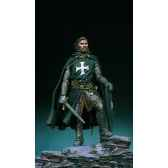 figurine kit a peindre chevalier hospitalier en 1250 sm f42