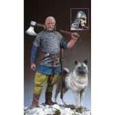 figurine kit a peindre chef viking sm f43