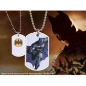 dog tag batman en action blanc noble collection nnxt8370
