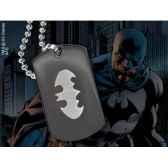 dog tag embleme batman noble collection nnxt8343