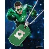 dog tag green lantern bouclier noble collection nnxt8346
