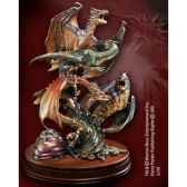 dragons de la premiere epreuve sculpture bronze noble collection nn7764