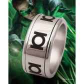 green lantern anneau coulissant acier noble collection nnxt8305