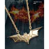 pendentif dark knight plaque or noble collection nn4729