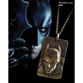 pendentif plaque batman dark knight noble collection nn4728