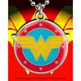 pendentif wonder woman acier couleurs noble collection nnxt8332