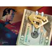 pince a billet plaque or superman returns noble collection nn4389